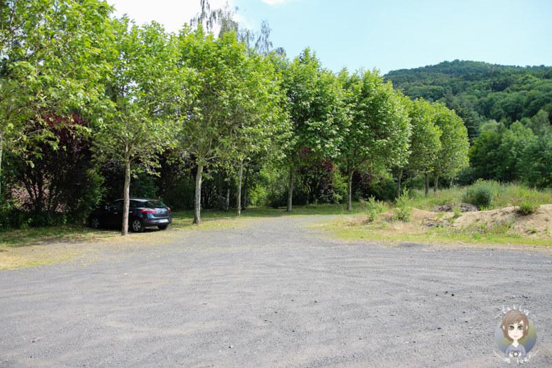 Parken im Zentrum von Saint-Nectaire