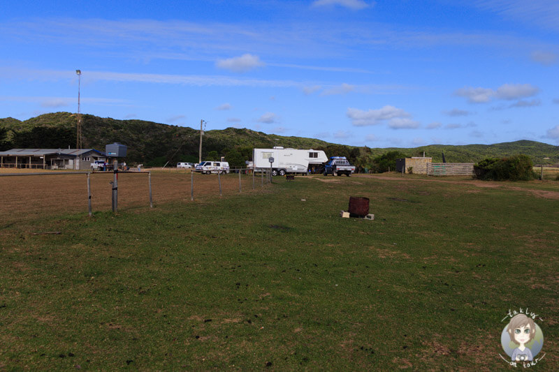 Der Campground in Princetown, Victoria