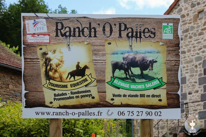 Willkommen auf der Ranch O´Palles in Charbonnières-les-Vieilles