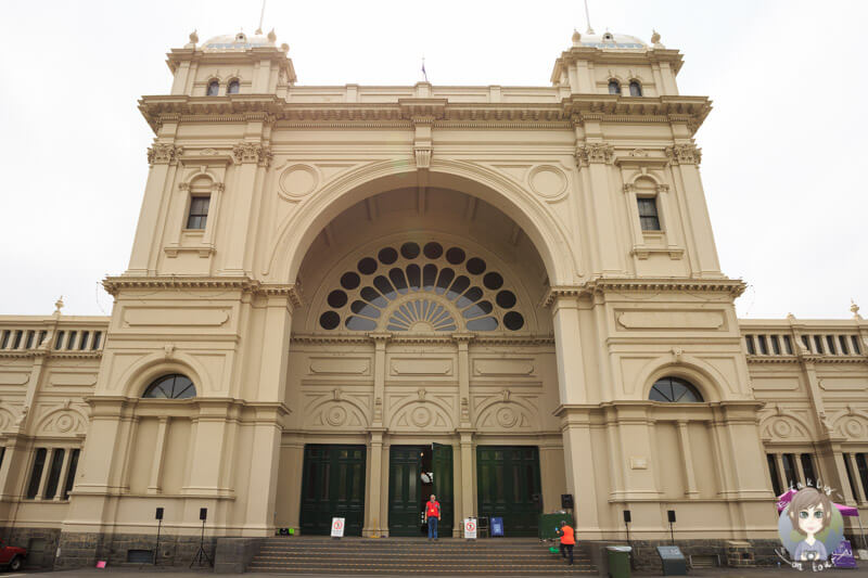 Sehenswertes Royal Exhibition Building, Melbourne, Australien