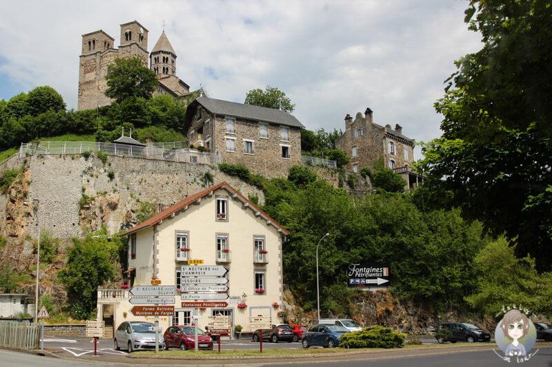 Kirche von Saint-Nectaire, Frankreich