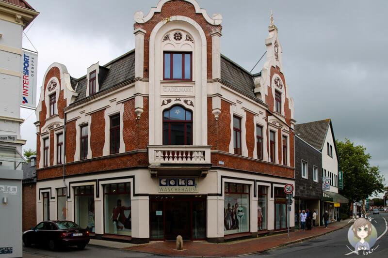 Schöne Häuser in der Altstadt von Norden
