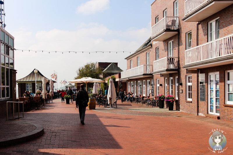 Die Promenade in Wilhelmshaven