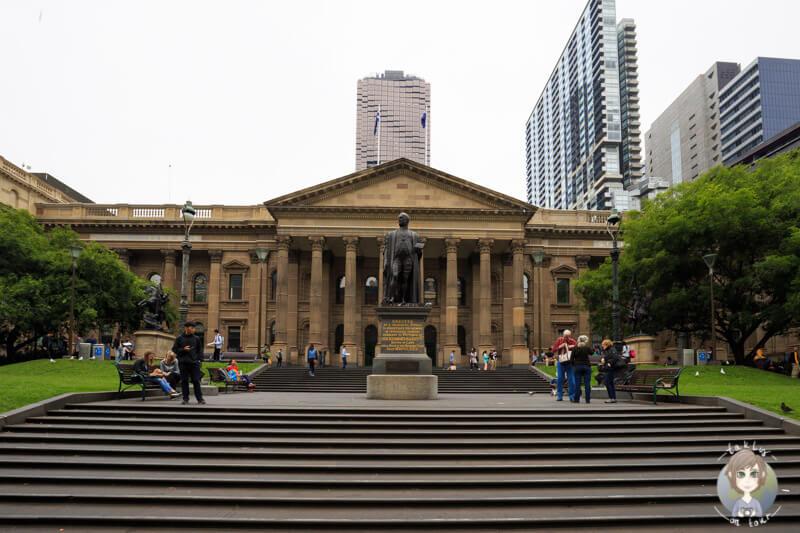 Die State Library of Victoria in der Innenstadt von Melbourne, Australien