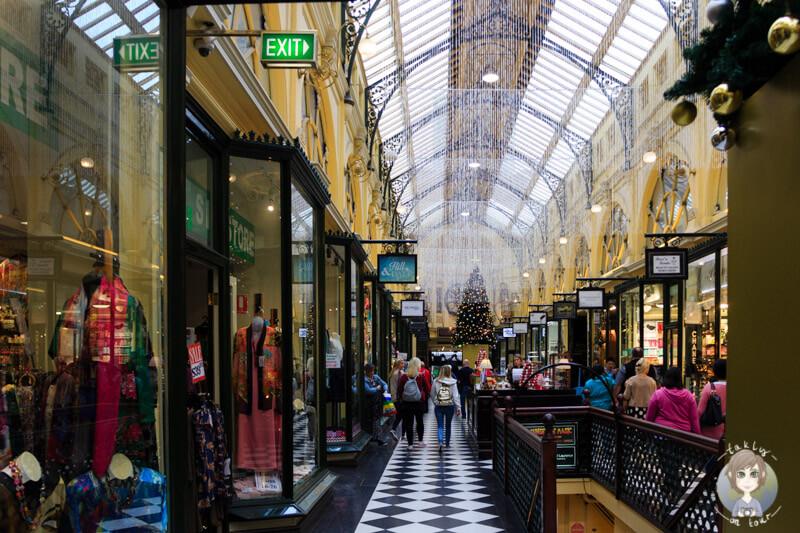 Weihnachten in der Royal Arcade