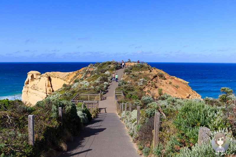 Viewpoint auf der Great Ocean Road
