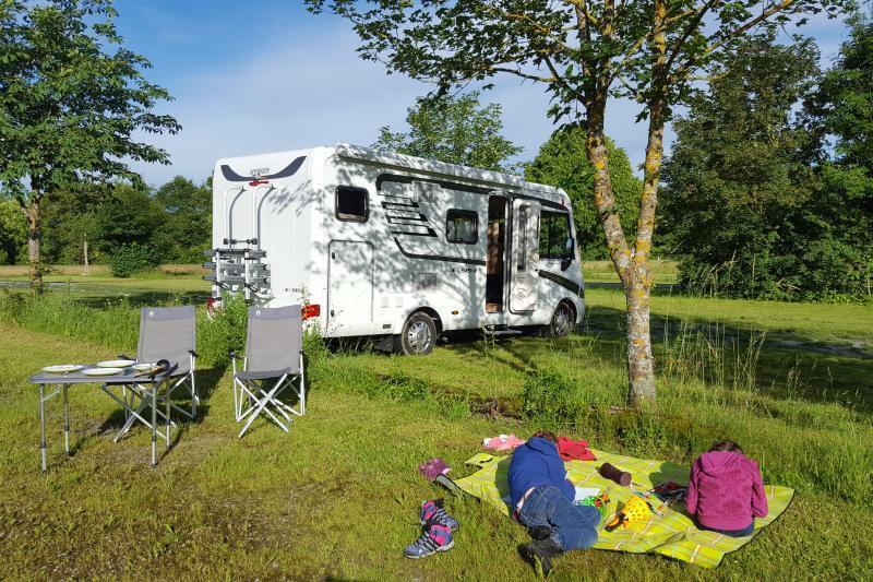 Camping mit Outdoorkid
