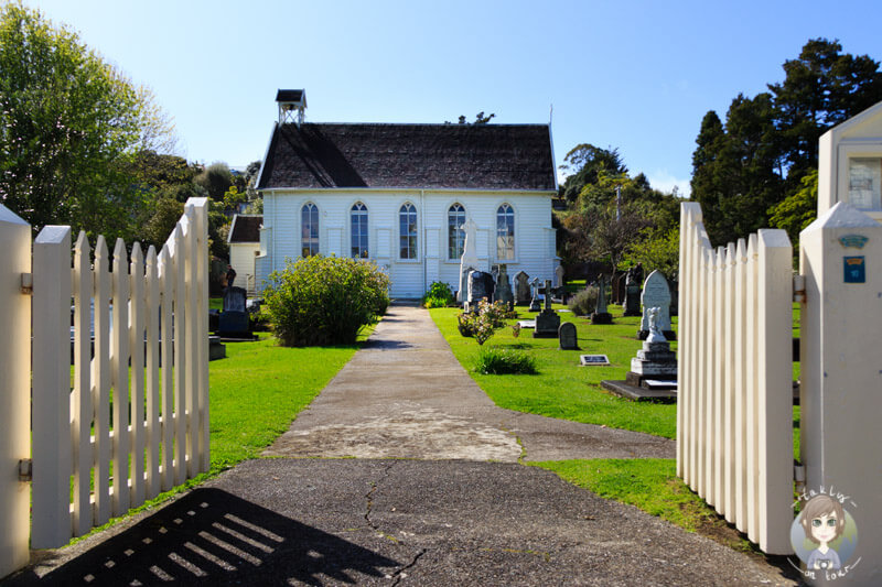 Die sehenswerte Christ Church in Russell, Northland, Neuseeland