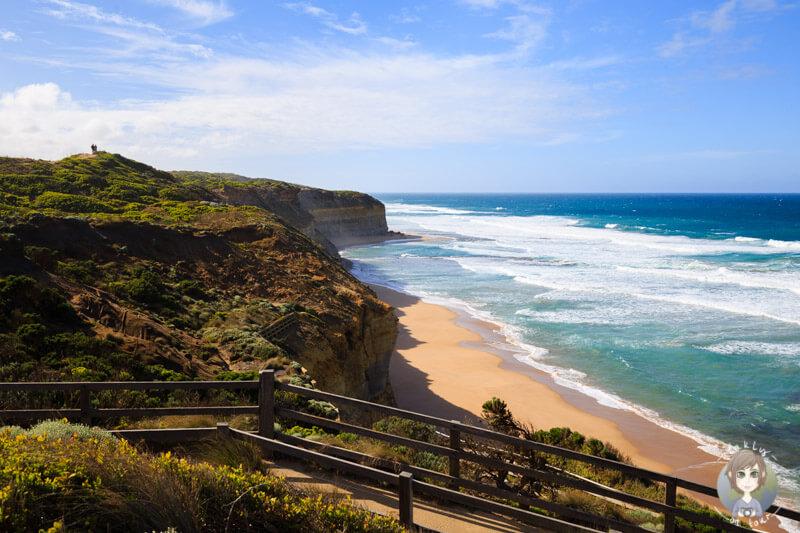 Tolle Aussicht bei den Gibson Steps, Great Ocean Road, Victoria