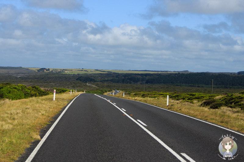 Auf der Fahrt Richtung Port Campbell, Victoria, Australien