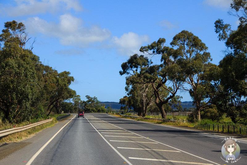 Auf dem Weg zur Ostküste in Victoria, Australien