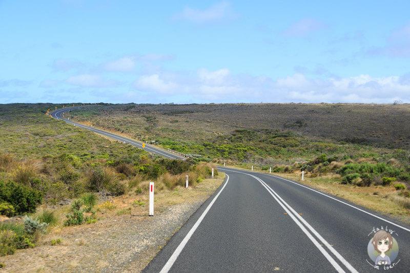 Fahrt über die Great Ocean Road nach Port Campbell, Australien