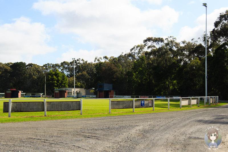 Sportplatz von Meeniyan, Victoria
