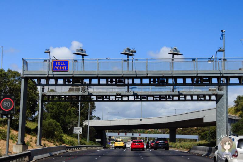 Mautpflichtige Straßen in Melbourne