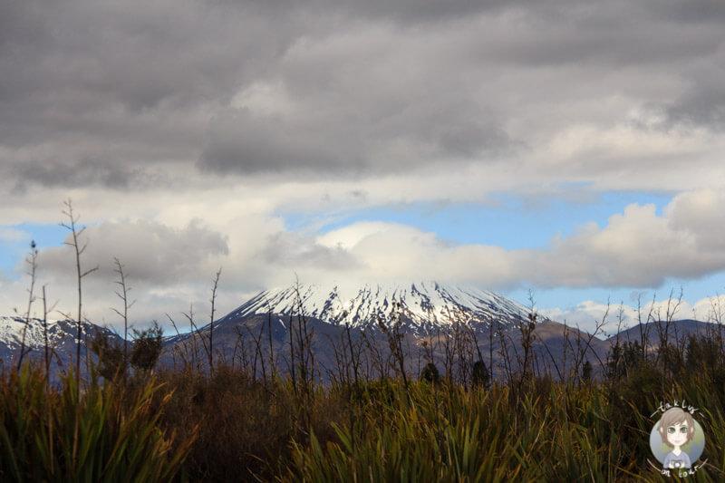 Eine Kulisse aus Herr der Ringe im Tongariro National Park, Neuseeland