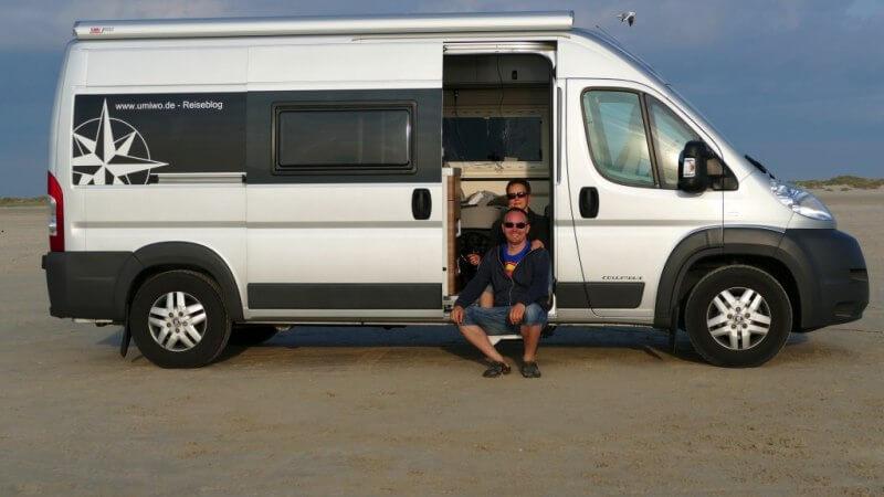 Das Team UMIWO unterwegs im Westfalia