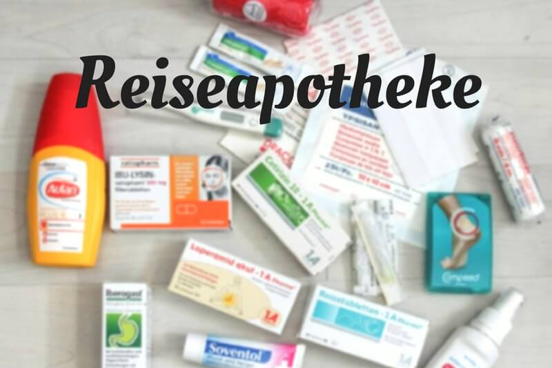 Medikamente fuer eine Reise eine Reiseapotheke Checkliste zum Ausdrucken