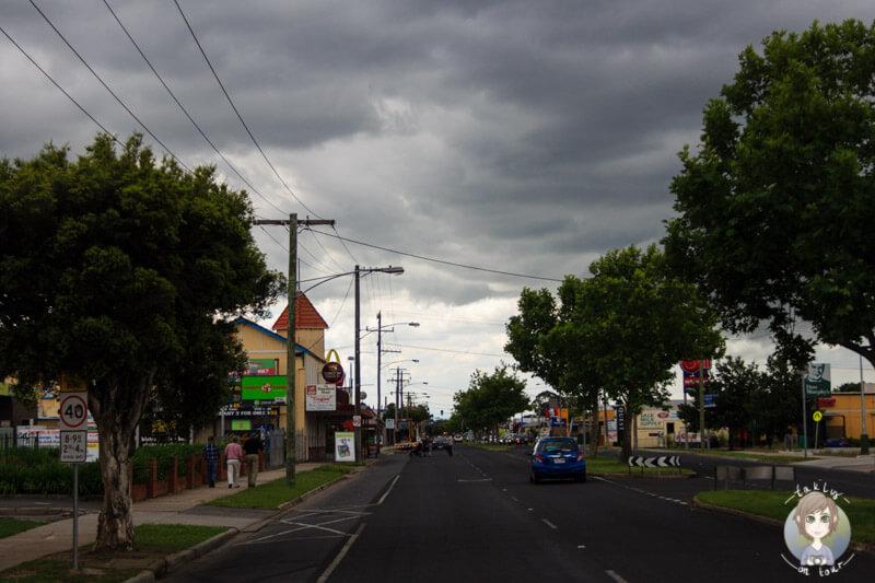 Fahrt durch Sale, Victoria