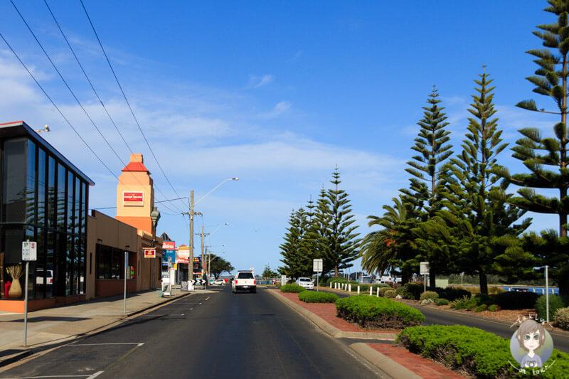 Fahrt durch Lakes Entrance , Victoria, Australien