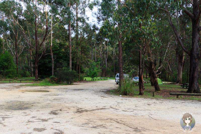 Murrungowar Rest Area, Victoria, Australien