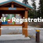 Camping Self Registration • Checkin auf dem Campingplatz