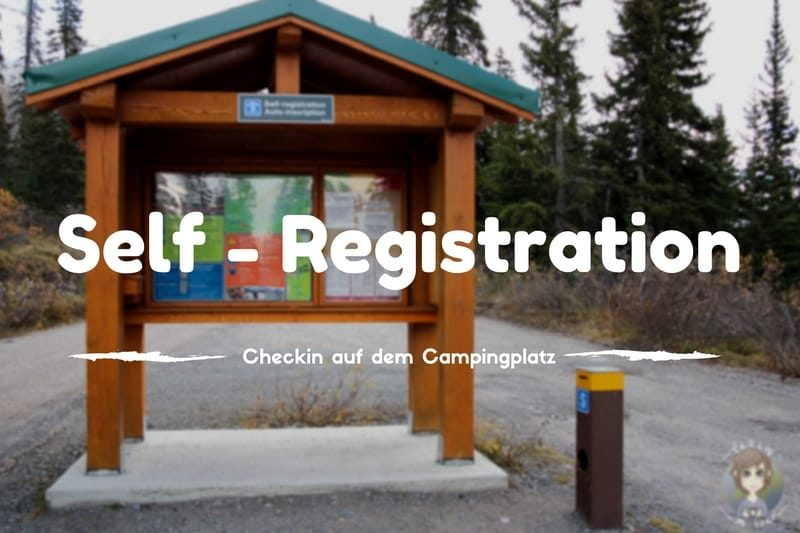 Chekin auf dem Campground via Self Registration