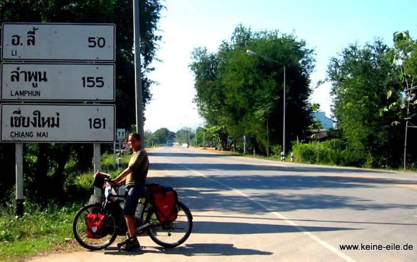 Mit dem Fahrrad durch Thailand, Keine Eile