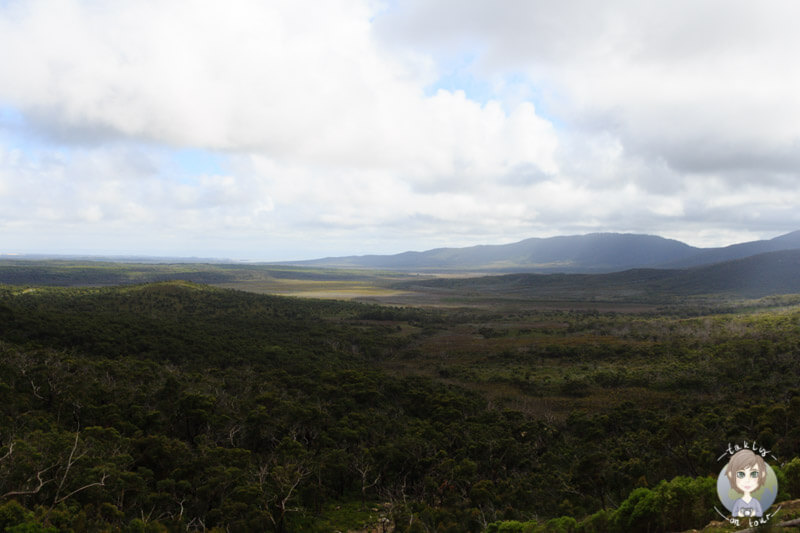 Weite Aussicht auf den Wilsons Promontory Nationalpark, Australien