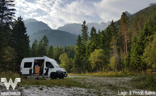 Wildcamping in Italien mit Whatabus