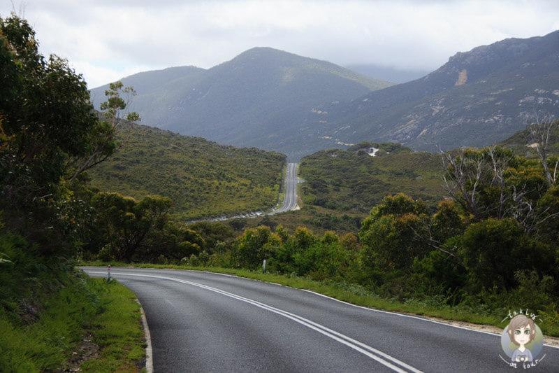 Wechselnde Landschaft im Wilsons Promontory National Park, Victoria