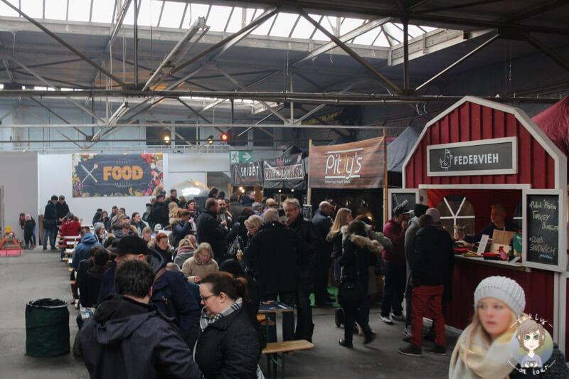 Andrang auf dem Kölner Street Food Festival