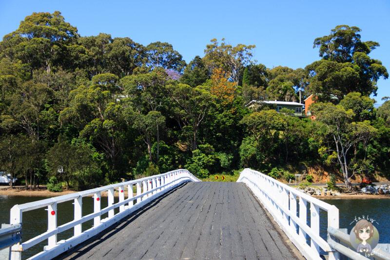 Brücke auf dem Prices Highway