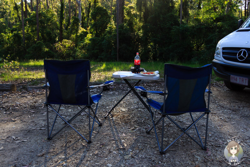 Camping im Bodalla Forest Park