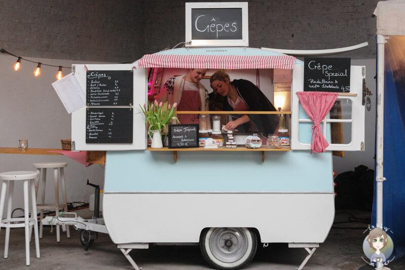 Crepes auf dem Street Food Festival in Köln