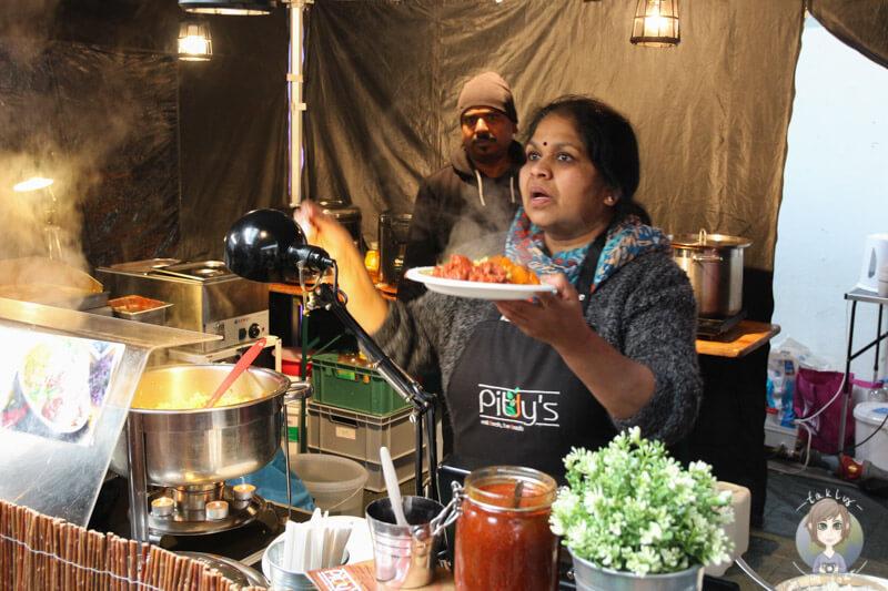 Der Stand von Pittys auf dem Kölner Street Food Festival