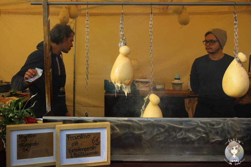 Der Stand von Provolino auf dem Street Food Festival in Köln