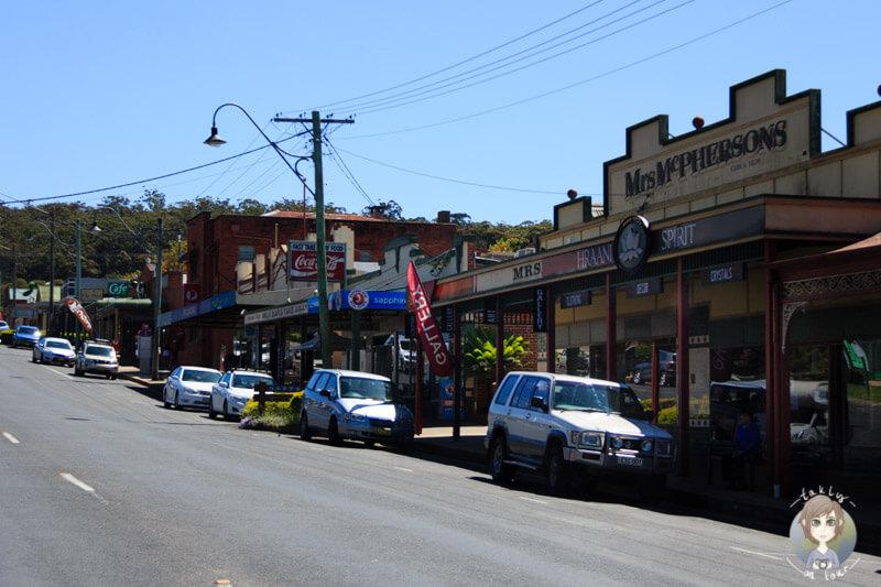 Fahrt durch Merimbula; NSW