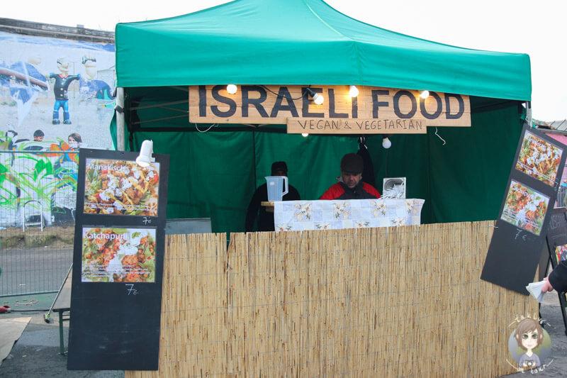 Leckeres Israeli Food auf dem Street Food Festival in Köln