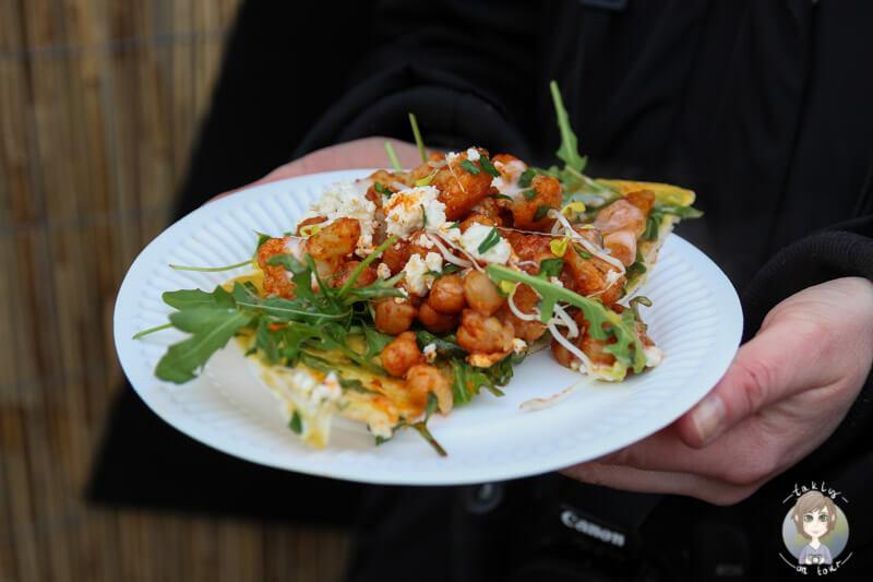 Israelische Küche auf dem Kölner Street Food Festival, NRW