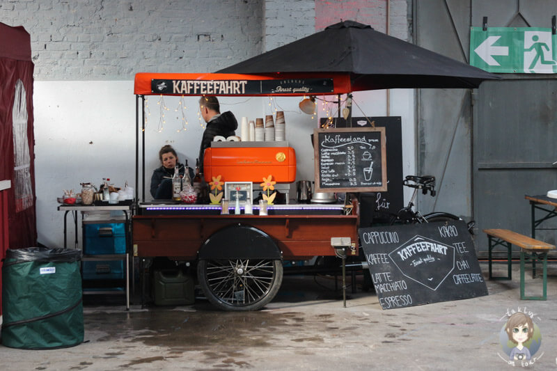 Stand der Kaffeefahrt auf dem Street Food Festival in Köln