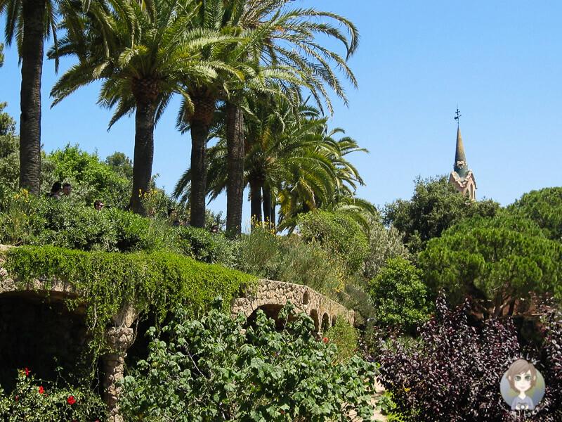 Park Güell, der Stadtpark von Barcelona