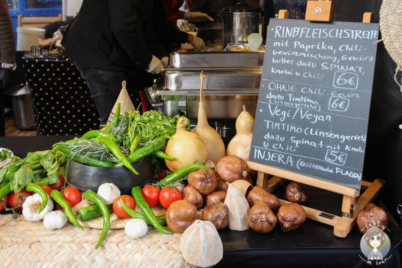 Allerlei Leckereien auf dem Köln Street Food Festival, NRW
