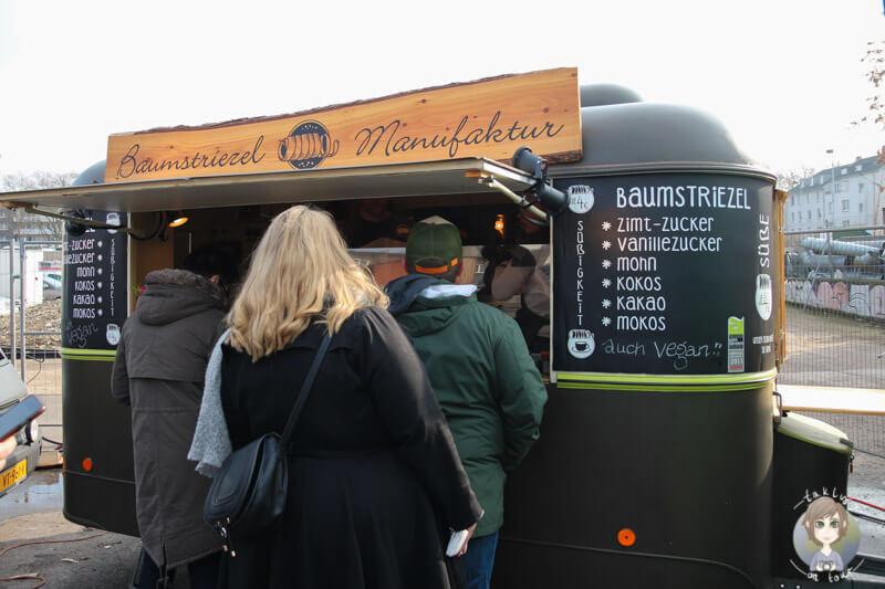 Leckere Baumstriezel auf dem Street Food Festival Köln