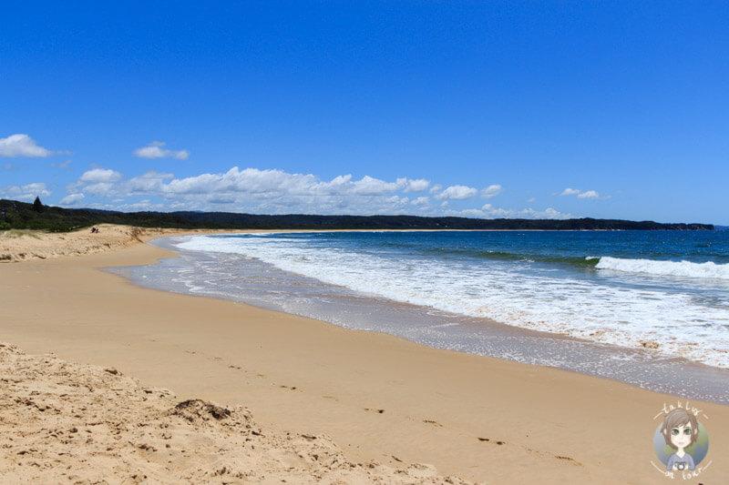 Der wunderschöne Strand am Tathra Beach, NSW, Australien