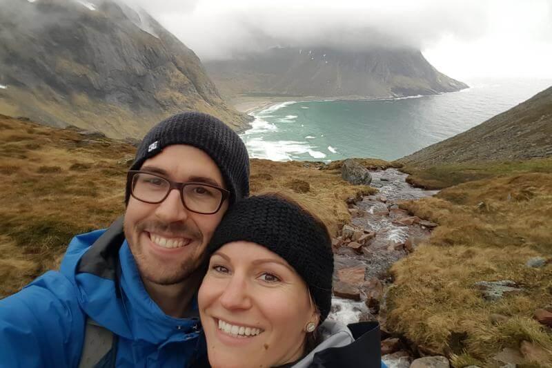 Wanderung zur Kvalvika Bucht - travelography
