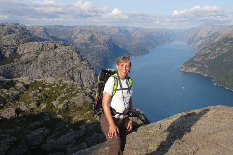 Sabine von Ferngeweht in Norwegen