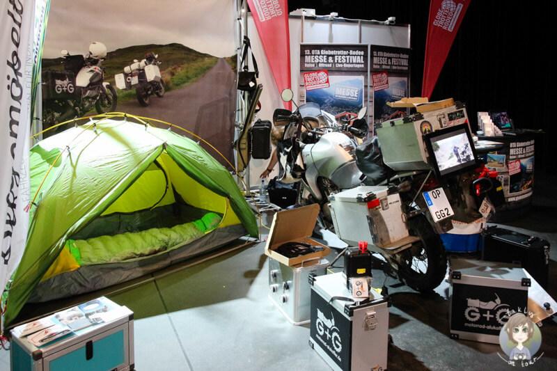 Mit dem Motorrad und Zelt auf Tour - Abenteuer Welt Köln