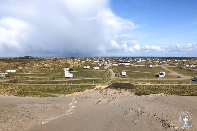 Camping in Europa in Dänemark