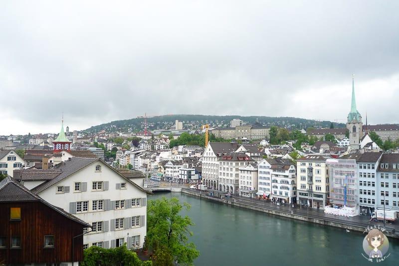 Camping in Europa nahe Zürich in der Schweiz
