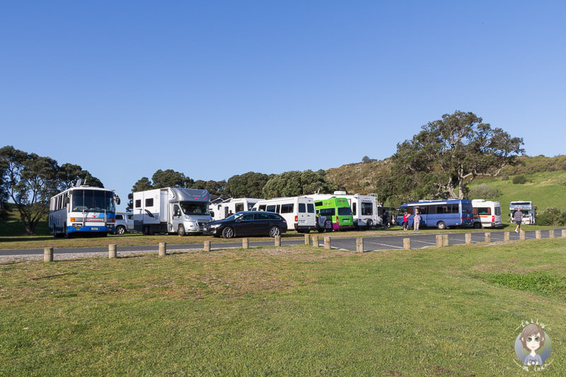 Camping an der Anzac Bay, Bowentown Domain